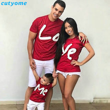 253a1134d0a7 2019 Family Matching Clothes Women Day Mother Daughter Baby Boy Kid Girls Father  Son Short Sleeve