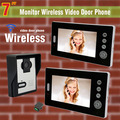 "Wireless Video Intercom System  7"" TFT Video Intercom Video Door Bell Wireless Doorbell With Camera  Video Door Phone 1 V 2"