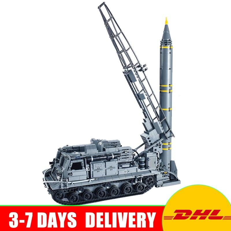 DHL Xingbao 06005 Military Series The 8U218 TEL 8K11 Set Building Blocks Bricks Children Educational Boy`s Toys Best Gifts ruru15070 to 218