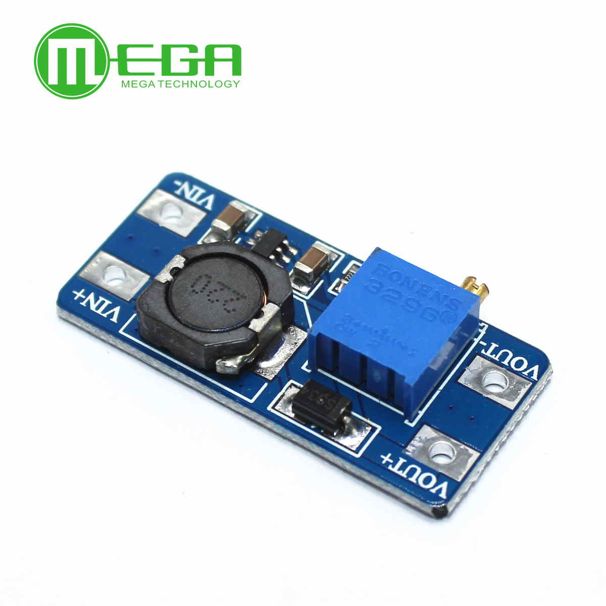 50pcs/lot MT3608 2A Max DC DC Step Up Power Module Booster Power Module-in Integrated Circuits from Electronic Components & Supplies