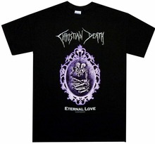 d4affcb29f Christian Death Eternal Love Shirt S M L XL Gothic Rock Tshirt Official T- Shirt(China