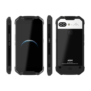 """Image 4 - Oficial AGM X2 5,5 """"Smartphone 4G 6G + 64G/128GB Android 7,1 teléfono móvil IP68 impermeable Octa Core 6000mAhNFC COV"""