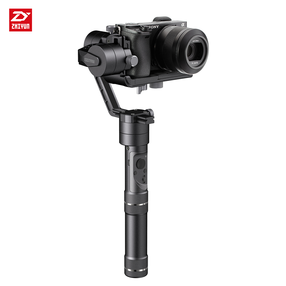zhi yun Zhiyun Official Crane M 3-Axis Handheld Gimbal Stabilizer for Smartphones Action Cameras DSLR  Mirrorless zhiyun crane m crane m 3 axis brushless handle gimbal stabilizer for smartphone mirroless dslr gopro 125g 650g