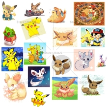 Full Diamond Embroidery Paintings Diy 5D Painting Cross Stitch Pikachu Mosaic Room Decor