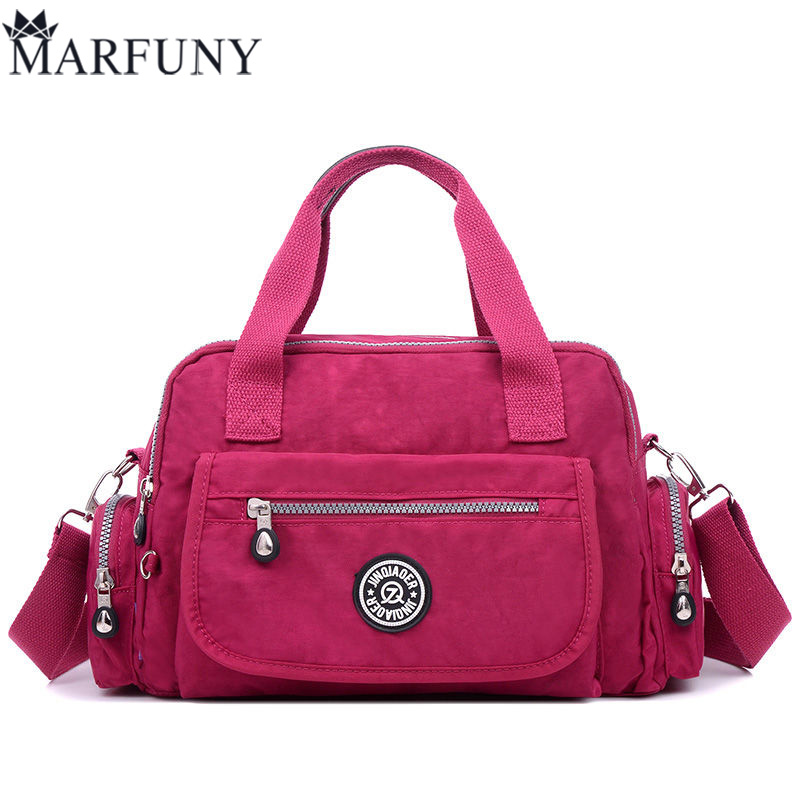 New Arrival Fashion Women Messenger Bags Large Capacity Shoulder Bag Nylon Bags Waterproof Casual Handbag For Teenagers