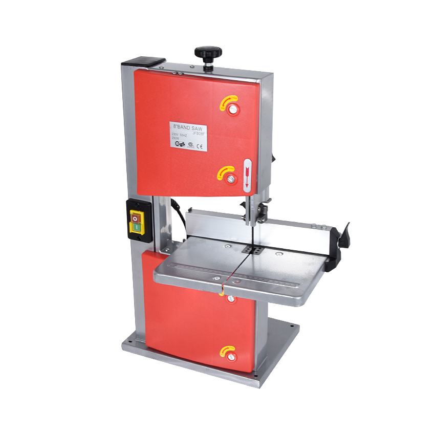 JFB08 8 Inch Band Saw 220V Multifunctional Woodworking Band-Sawing Machine Solid Wood Flooring Installation Work Table Saws 250W цена и фото
