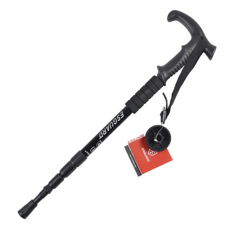 Image 3 - VILEAD 2Pcs/lot 53 110cm Nordic Walking Sticks Aluminum Adjustable Ultralight Outdoor Travel Hiking Poles Walking Cane for elder-in Walking Sticks from Sports & Entertainment
