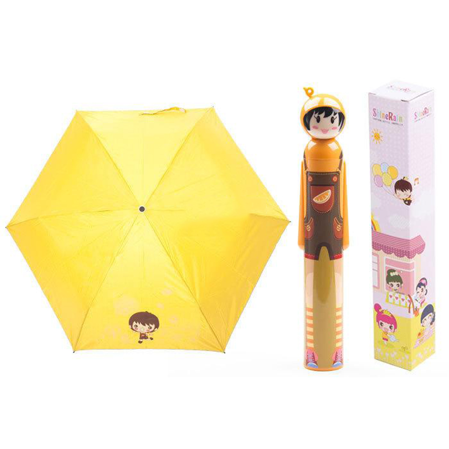 Doll Umbrella Kids Girls Boy Men Rain Folding Cheap Sun Beach Umbrella Ombrello Rain Coat Ladies Parapluie Rain Gear 50D0324