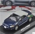 NOREV 1:43 motores MITSUBISHI ECLIPSE SPYDER Roadster de aleación modelo de coche de metal fundido a troquel deportes toy car collection Azul Profundo