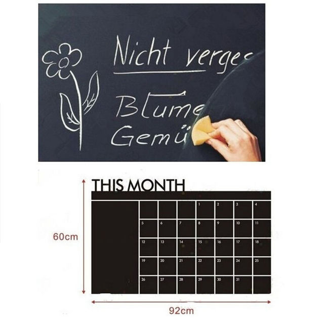 Monthly Chalkboard 60cm x 92cm 6