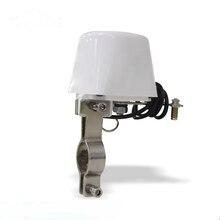 """DN15 DN20 Газовый Трубопровод манипулятор клапан 1/"""" 3/4"""" шаровой клапан для газа/воды отключения клапан-бабочка 12 В 1A"""