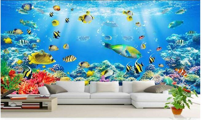 Buy 3d wallpaper custom photo non woven for 3d mural wallpaper