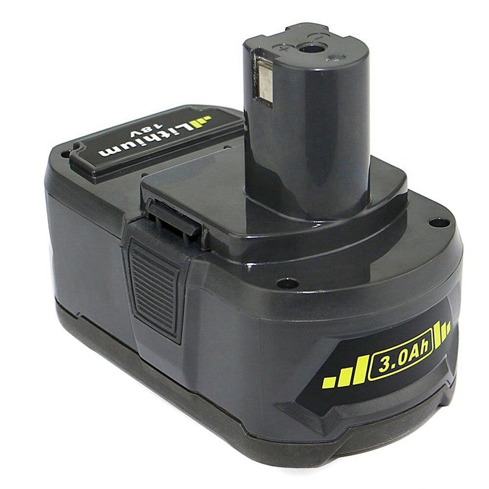 P20 3000mah for RYOBI P104 power tool battery for RYOBI BPL-1815 BPL-1820G BPL 18151 BPL1820 P102 P103 P104,P105,P106,P107 гигрометр ryobi phoneworks rpw 3000