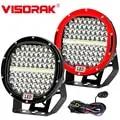 "VISORAK 9 ""Super brillante 378 w Offroad LED barra de luz de trabajo para 4WD x 4 4x4 Off Road SUV ATV camión coche lámpara de trabajo LED barco lámpara LED"