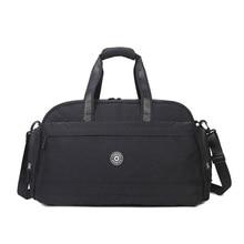 Мужская/женская спортивная сумка через плечо для путешествий, Большая вместительная водонепроницаемая сумка для путешествий, сумки для багажа на выходные