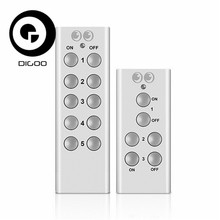 Digoo RC-13 Smart RF Controller 3 or 5 Channels for Digoo RC-13 Remote Control Socket Parts