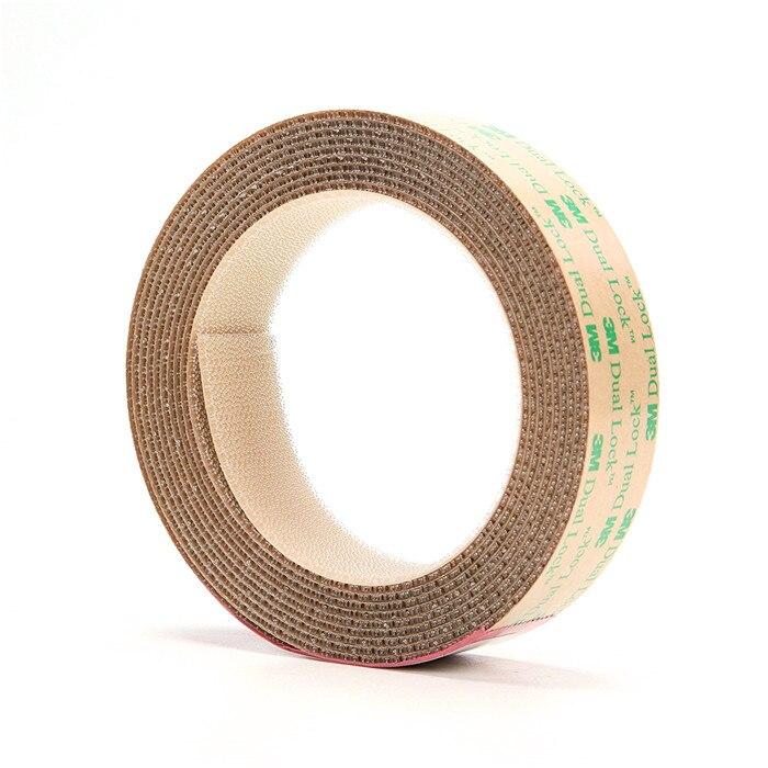 SJ4570 25,4 mm * 2 metry Dual Lock uzavíratelná upevňovací páska hub 3M samolepicí upevňovací páska s tvarem hub