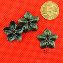 A02 коробка аппаратное украшение лист кусок деревянной коробки четыре квадратных цветок рог четыре Пузырьковые пластины для ногтей