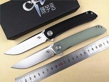 Марка CH CH3002-G складной нож D2 лезвие флип шарикоподшипник системы G10 ручка походные Карманные Ножи EDC инструмент открытый нож