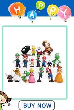 7 Styles Super Mario Bros Figures 13Cm Japan Anime Luigi Dinosaurs