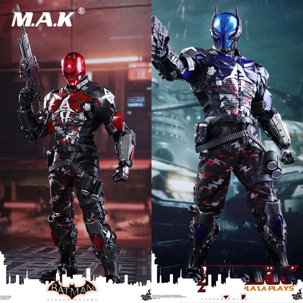 Hot Giocattoli Da Collezione Blue & Red Hood Arkham Knight Batman Serie 1/6 Da Collezione Figura VGM28 Action Figure Doll Giocattoli Regalo