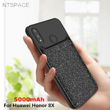 NTSPACE 5000mAh Battery Charger Case For Huawei Honor 8X Backup Power Bank External Back Clip Charging Cover
