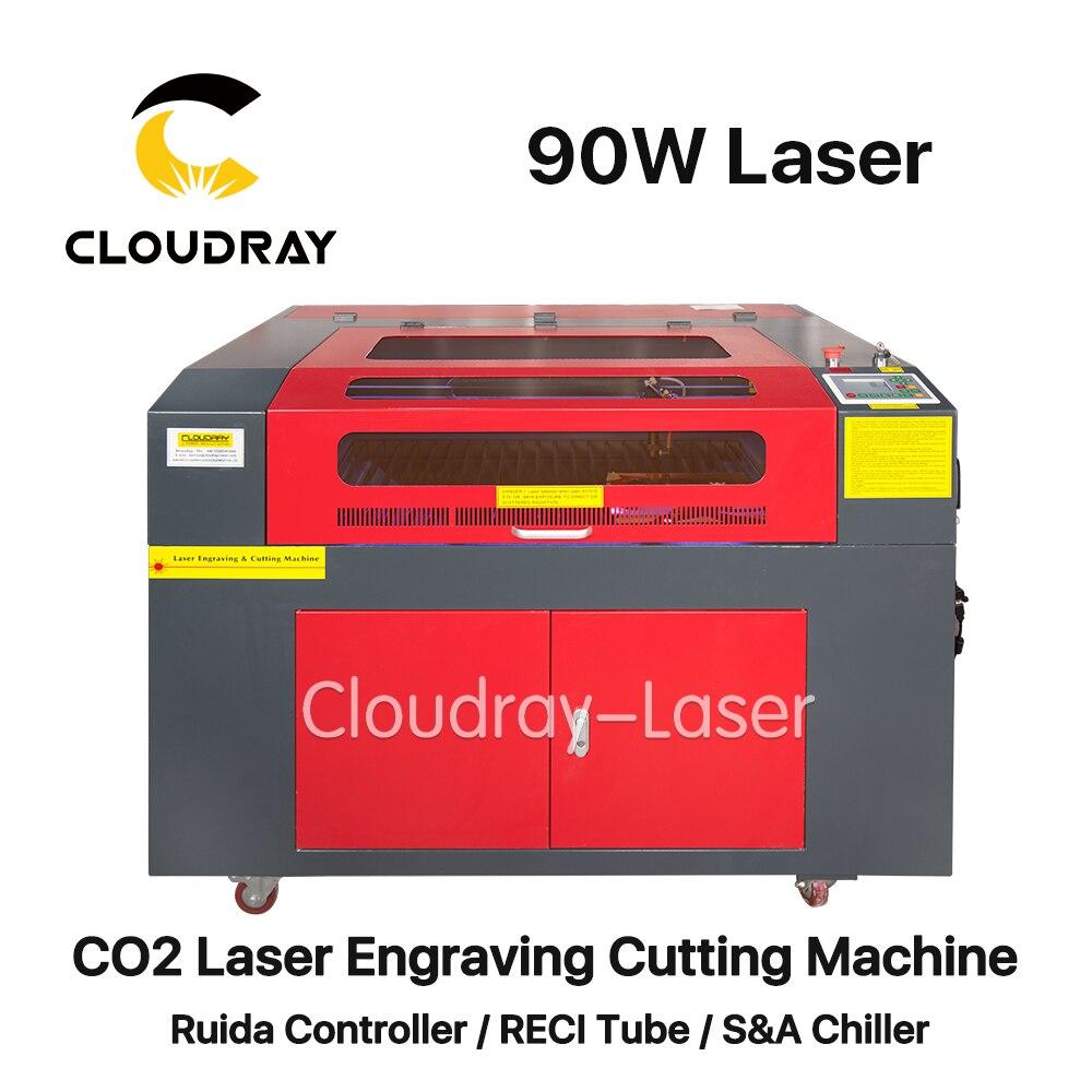 Cloudray 90 W 6090 CO2 Laser gravure Machine de découpe graveur Cutter Port USB haute précision