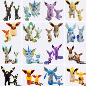 Toys Plush-Doll Stuffed Eevee Espeon Umbreon Leafeon JOLTEON Glaceon 16--20cm Peluche