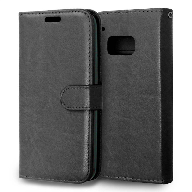 Vintage Flip wallet PU Leather case For HTC One M9 with Card Holders photo frame phone bag