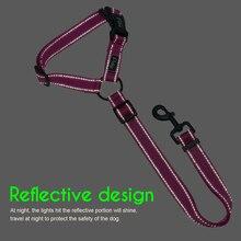 Car Seat Belt Reflective Nylon Dogs Safety Seat Belt Strap
