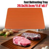 Safety Fast Defrosting Meat Tray Frozens Food Meat Rapid Thawing Tray High Quality 29.5*20.5*0.2cm