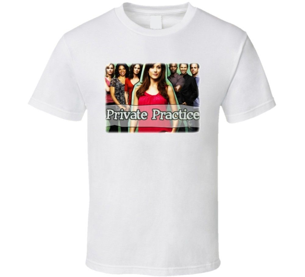 Частная практика групповой снимок ТВ серии футболка