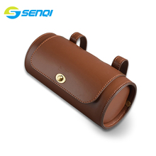 Vintage Tail Bag Bicycle Saddle Waterproof MTB Bike Rear Reflective Cycling Seat Large Accessories