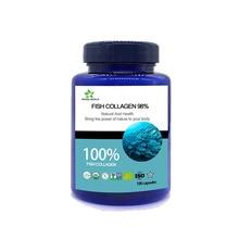 ธรรมชาติบริสุทธิ์ hydrolyzed fish collagen 98% แคปซูล