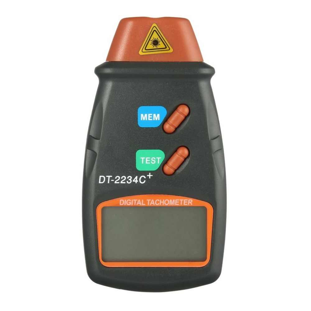 General Digital Laser Photo Tachometer Non Contact RPM Tach Digital Laser Tachometer Speedometer Speed Gauge Engine