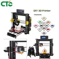CTC 3D Printer Reprap Prusa MK8 I3 DIY Kit MK2A Heizung Bett 3D Drucker ABS PLA