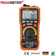 PEAKMETER PM8229 5 en 1 Multímetro Digital Con Multi-función de Nivel de Sonido Lux Temperatura Humedad Tester Medidor de Frecuencia