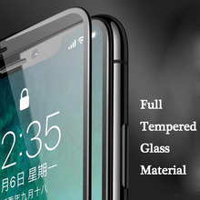 New 6D Tempered Glass Screen Protector 9H Phone Film Compatible With Apple X 7/8 7/8Plus 6 6Plus DOM668
