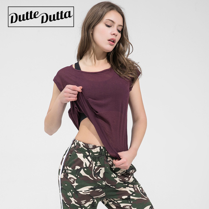 Duttedutta Womens Sports Shirts transpirable Yoga Tops para damas Gym - Ropa deportiva y accesorios