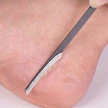 2019 nuovo Metallo Cuticola Pusher Delle Donne Degli Uomini di Rimozione Della Pelle Morta Strumenti di Cura Del Piede di Pedicure del Manicure di Cura Trimmer Hot
