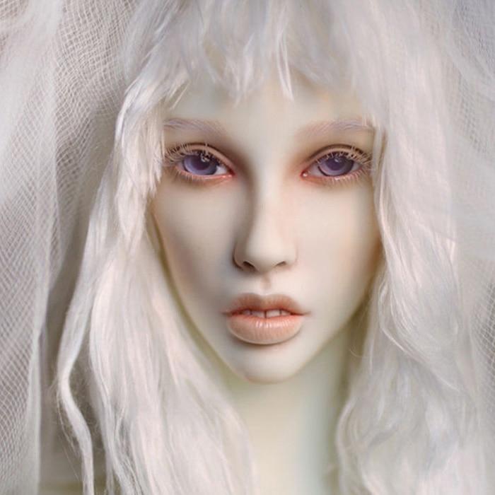 Dollshe craft DS Erica snow 26F 1 3 body model girl bjd sd doll oueneifs High