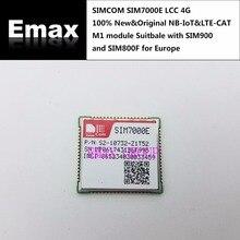 SIMCOM Módulo SIM7000E B3/B8/B20/B28 LCC 4G 100%, nuevo y Original, SIM7000E NBIoT & LTE CAT M1, SIM900 SIM800F y, para Europa