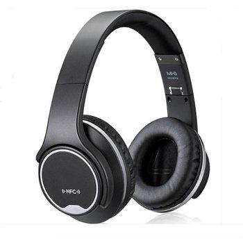 Over-Ear Headphones PluStore Foldable Wireless Bluetooth 3.0 on-Ear 2in1  Twist Out Speaker Stereo Headset Black