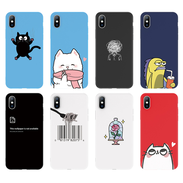Cute Cartoon Phone Case For Apple iPhone