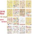 Классический Emoji 1 шт. стикер 48 WeChat AliExpress усмешки наклейки для ноутбуков альбомы сообщение Twitter Виниловые игрушки Посылать Случайно