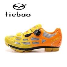 Tiebao унисекс Открытый спорт MTB Вело-обувь горный велосипед дорожный гоночный велосипед самоблокирующимся велосипед спортивный Обувь для человека женщин