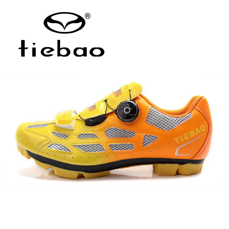 Tiebao Unisex Outdoor Sport MTB Cycling Shoes Mountain Bike Road Bike Racing Self-Locking  bicycle sport Shoes for man women
