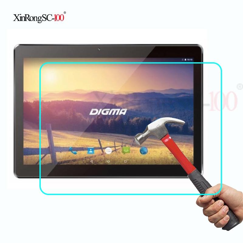 Закаленное стекло, Защитная пленка для экрана 10,1 дюйма, DIGMA OPTIMA 1104S 3G TS1087MG / Plane 1551S 4G PS1164ML