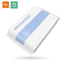 Xiaomi mijia ZSH ręcznik kąpielowy bawełna Xiaomi ręcznik plażowy myjka myjka antybakteryjna absorpcja wody 27.5x55 cali