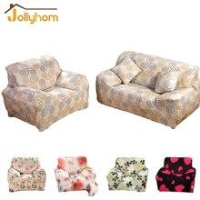 Flexible Stretch cubierta de Sofá, sofá de Dos Plazas Sofá cubierta de Gran Elasticidad de Mueble de Cobertura 1 unid Diseño de la flor 8 Colores de La Máquina lavable
